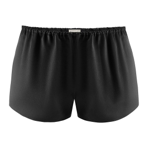 Silk Shorts Midnight Black