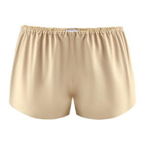 Silk Shorts - French Beige